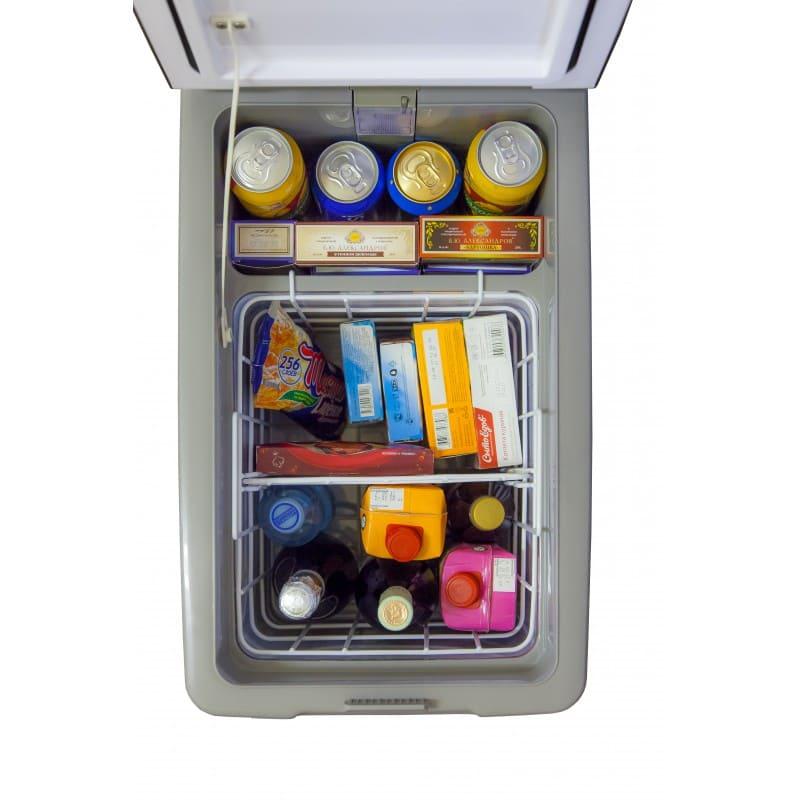 Автохолодильник в аренду компрессорный 47 л Indel, рабочий режим от +5...-18C, питание 12/24 В, 110/220 В