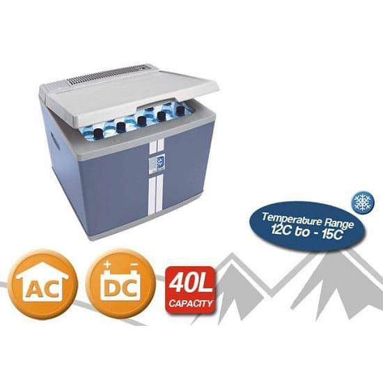 Автомобильный холодильник 40 л в аренду Mobicool, режим от +12...-15C, 12 В/220 В, термоэлектрический, компрессорный