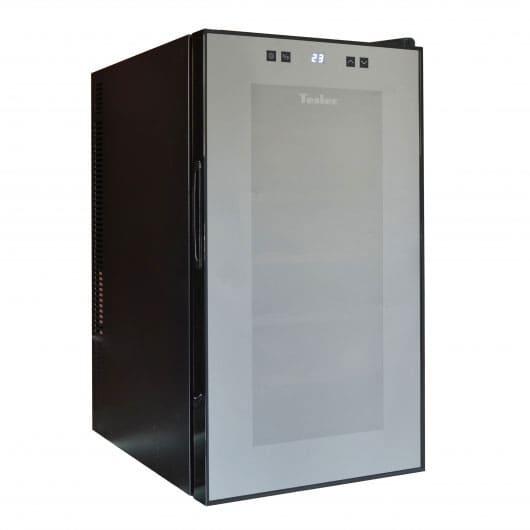 Винный холодильник в аренду Tesler на 18 бутылок, температурный режим +12...+18C, электронное управление, для красных вин
