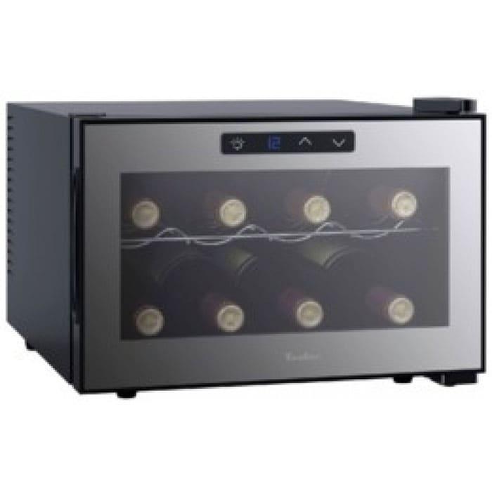Винный холодильник в аренду Tesler на 8 бутылок, температурный режим от +11...+18C, электронное управление, для красных вин