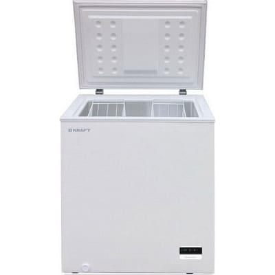 Морозильный ларь в аренду 175 л Kraft, температурный режим -18...-20C градусов, белый, глухая крышка