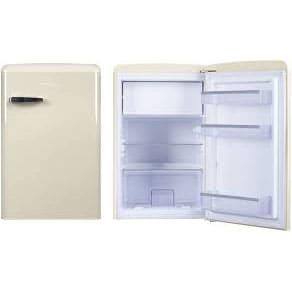 Барный холодильник в аренду Ретро 108 л, холодильная камера 93 л, морозильное отделение 13 л, бежевый цвет