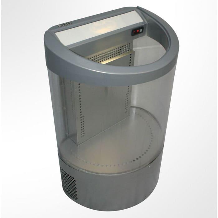 Холодильная витрина кулер в аренду Ugur T100, температурный режим от +2C до +12C градусов, рекламная, для импульсных продаж