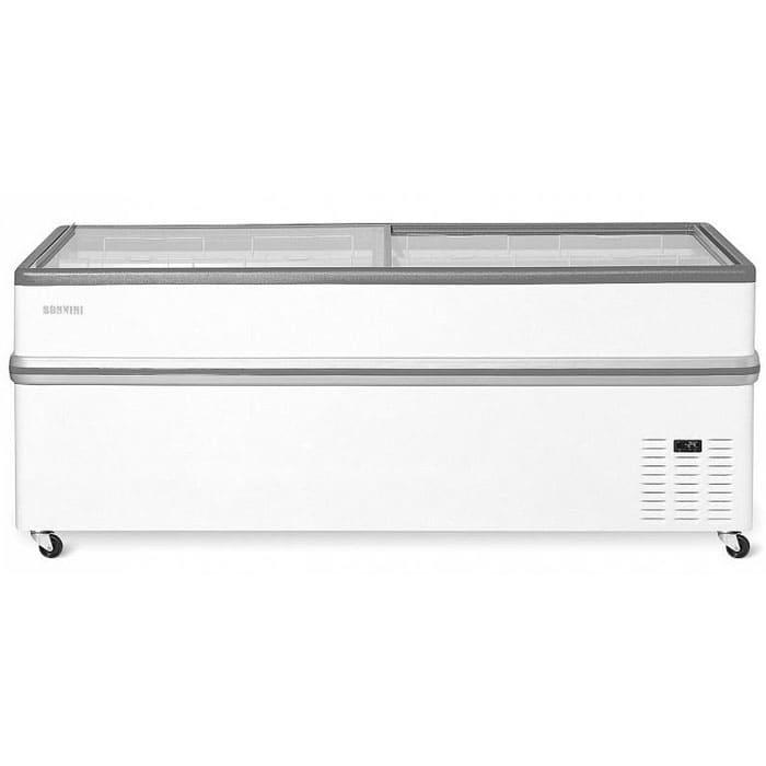 Холодильный ларь бонета в аренду Bonvini 2090 мм, температурный режим от -5 +5 градусов, для любой охлажденной продукции
