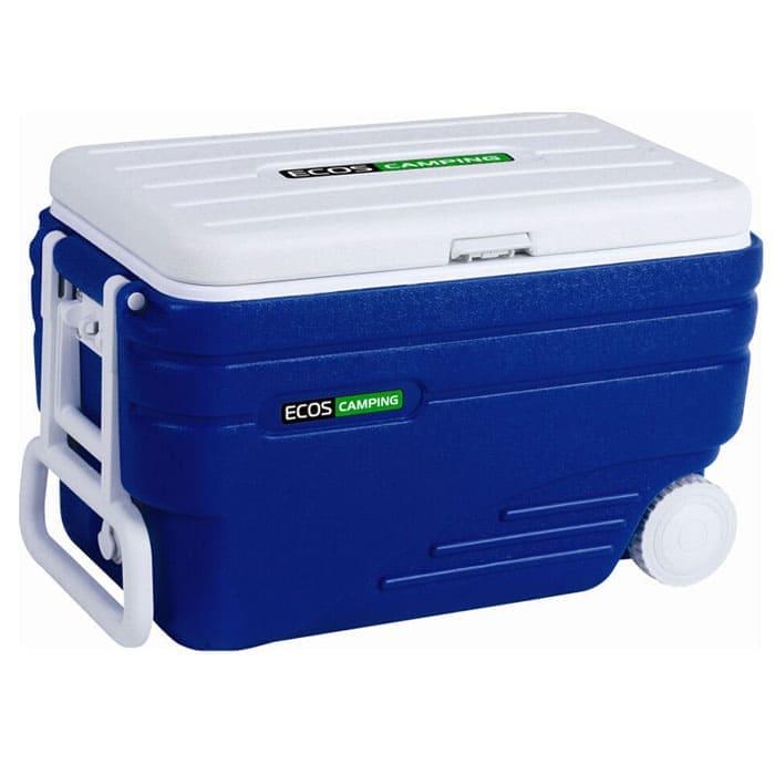 Термобокс в аренду 80 л ECOS (изотермический контейнер), с колесами и ручкой